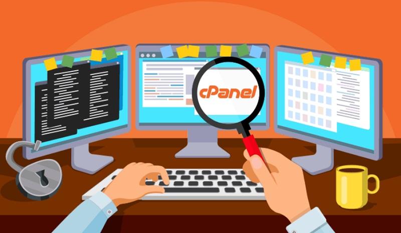 cPanel za upravljanje gostovanja spletne strani